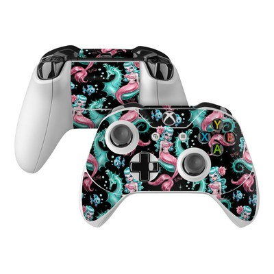 Microsoft Xbox One Controller Skin - Mysterious Mermaids