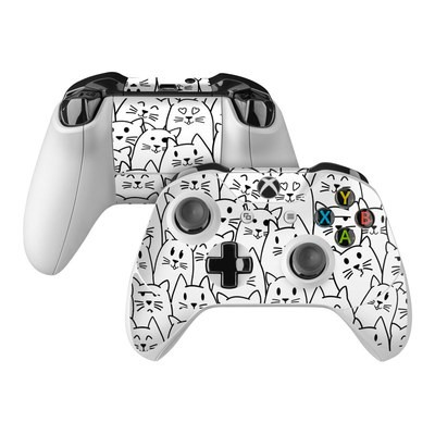 Microsoft Xbox One Controller Skin - Moody Cats