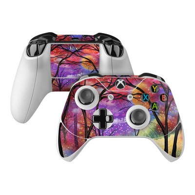 Microsoft Xbox One Controller Skin - Moon Meadow