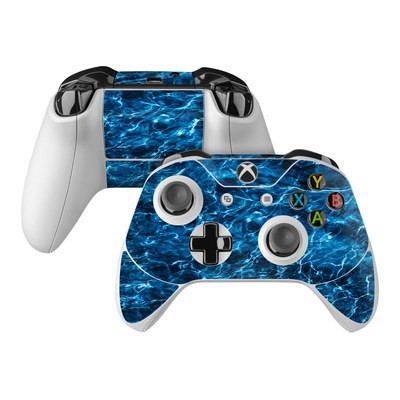 Microsoft Xbox One Controller Skin - Mossy Oak Elements Agua