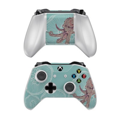 Microsoft Xbox One Controller Skin - Octopus Bloom