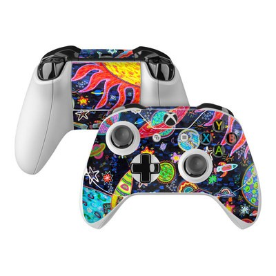Microsoft Xbox One Controller Skin - Out to Space