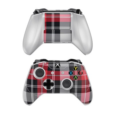 Microsoft Xbox One Controller Skin - Red Plaid