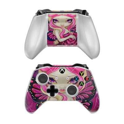 Microsoft Xbox One Controller Skin - Pink Lightning