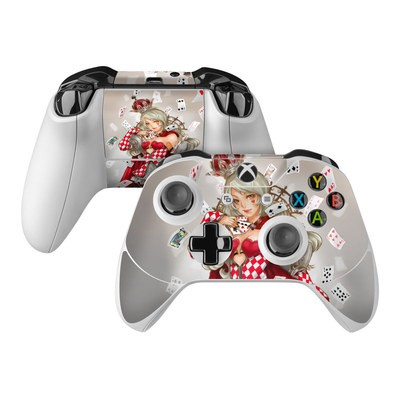 Microsoft Xbox One Controller Skin - Queen Of Cards