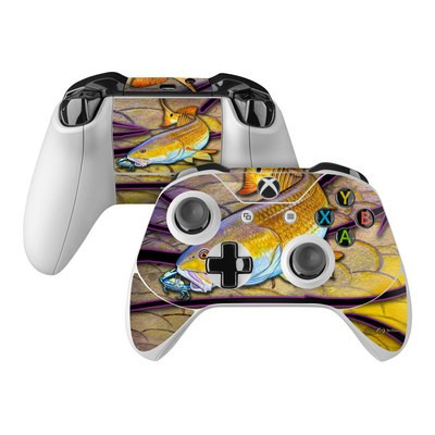 Microsoft Xbox One Controller Skin - Red Fish