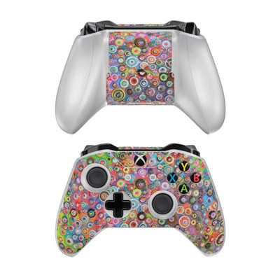 Microsoft Xbox One Controller Skin - Round and Round
