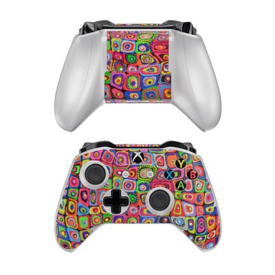 Microsoft Xbox One Controller Skin - Square Dancing