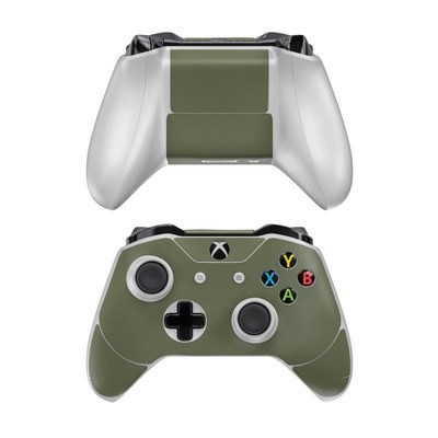 Microsoft Xbox One Controller Skin - Solid State Olive Drab
