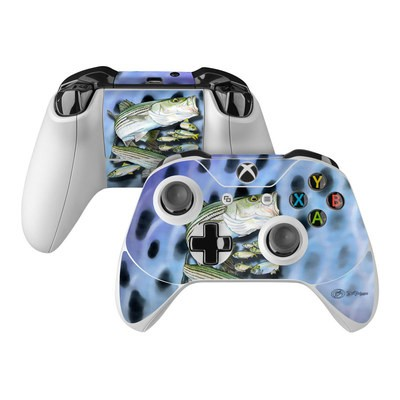 Microsoft Xbox One Controller Skin - Striped Bass