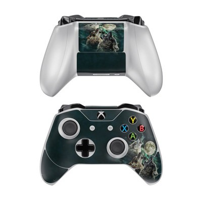 Microsoft Xbox One Controller Skin - Three Wolf Moon