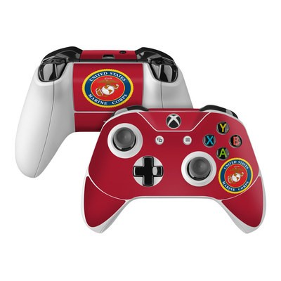 Microsoft Xbox One Controller Skin - USMC Red