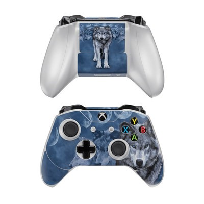 Microsoft Xbox One Controller Skin - Wolf Cycle