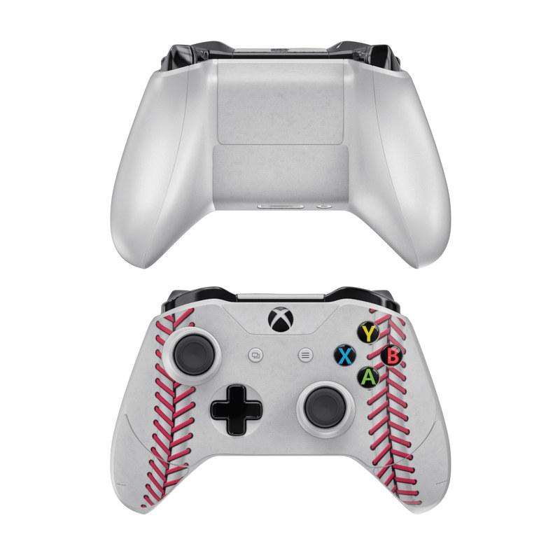 Microsoft xbox one controller skin baseball