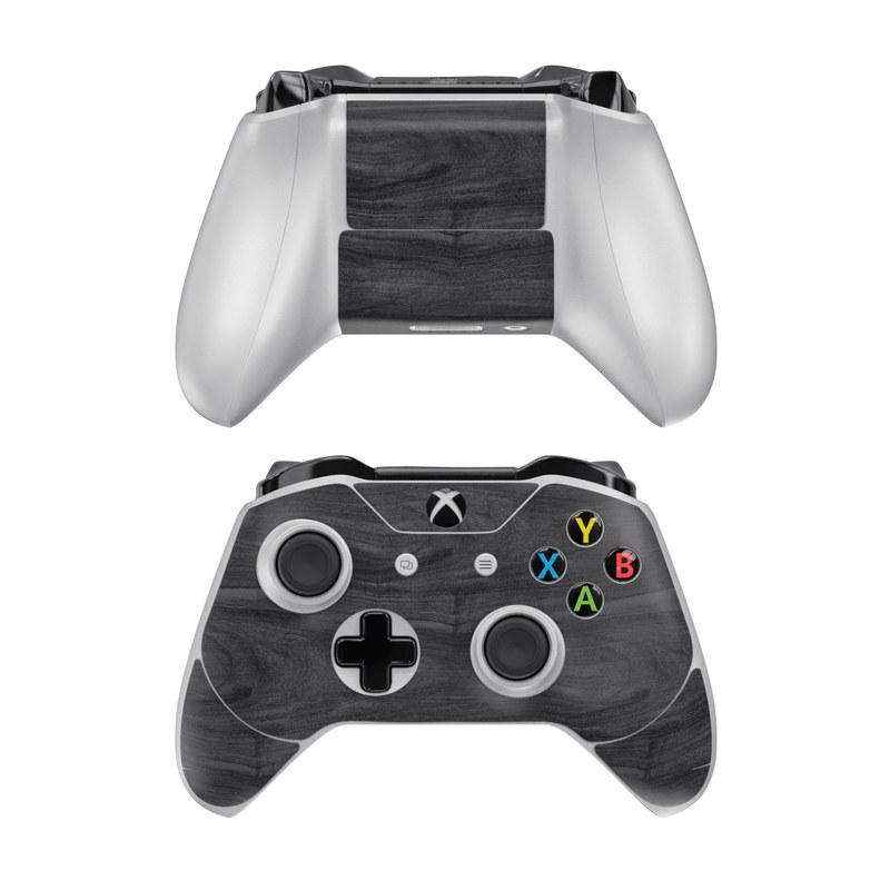 Microsoft Xbox One Controller Skin - Black Woodgrain by DecalGirl Collective