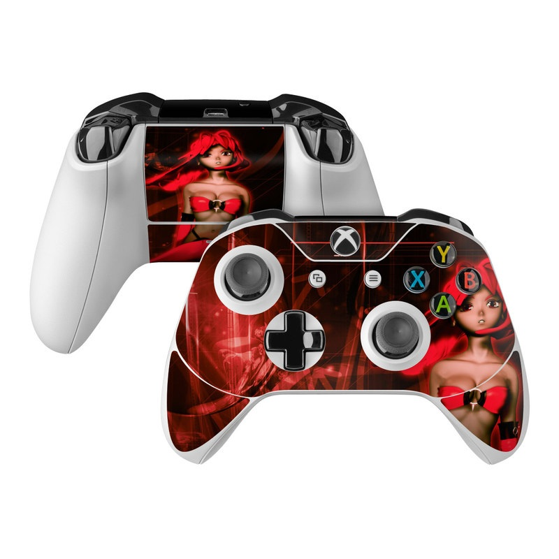Microsoft Xbox One Controller Skin - Ghost Red by Gaming ...