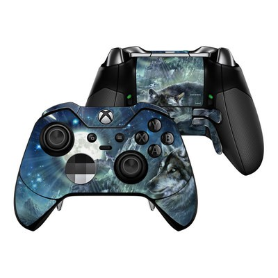 Microsoft Xbox One Elite Controller Skin - Bark At The Moon