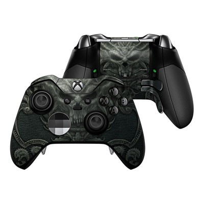 Microsoft Xbox One Elite Controller Skin - Black Book