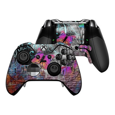 Microsoft Xbox One Elite Controller Skin - Butterfly Wall