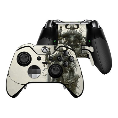 Microsoft Xbox One Elite Controller Skin - Dark Knight