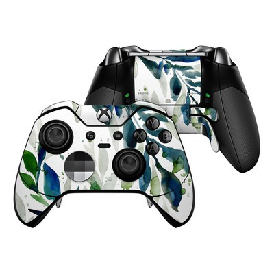 Microsoft Xbox One Elite Controller Skin - Floating Leaves