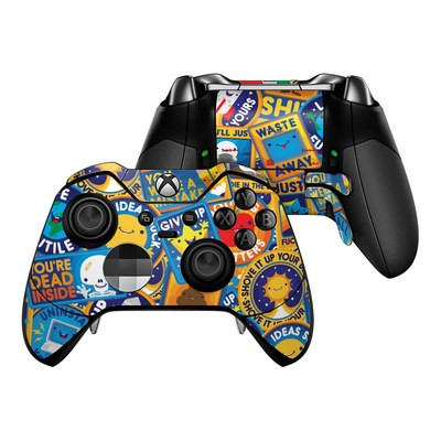 Microsoft Xbox One Elite Controller Skin - Eff Right Off