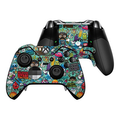Microsoft Xbox One Elite Controller Skin - Jewel Thief