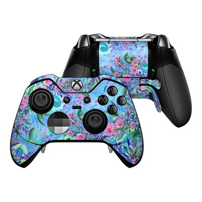 Microsoft Xbox One Elite Controller Skin - Lavender Flowers