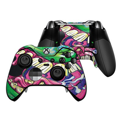 Microsoft Xbox One Elite Controller Skin - Mean Green