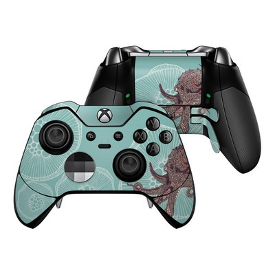 Microsoft Xbox One Elite Controller Skin - Octopus Bloom