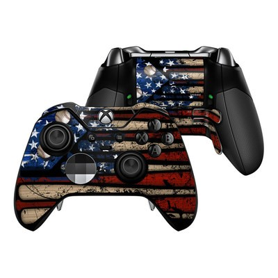 Microsoft Xbox One Elite Controller Skin - Old Glory