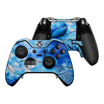 Microsoft Xbox One Elite Controller Skin - Paradise Peacocks