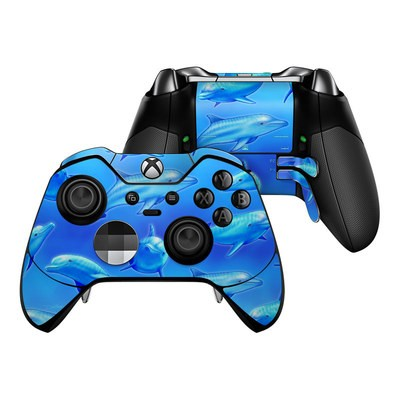 Microsoft Xbox One Elite Controller Skin - Swimming Dolphins
