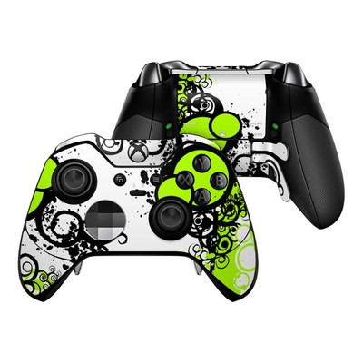 Microsoft Xbox One Elite Controller Skin - Simply Green