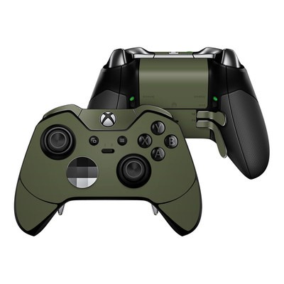 Microsoft Xbox One Elite Controller Skin - Solid State Olive Drab