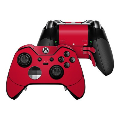 Microsoft Xbox One Elite Controller Skin - Solid State Red