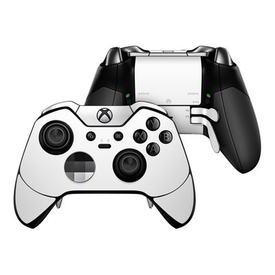 Microsoft Xbox One Elite Controller Skin - Solid State White