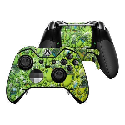 Microsoft Xbox One Elite Controller Skin - The Hive