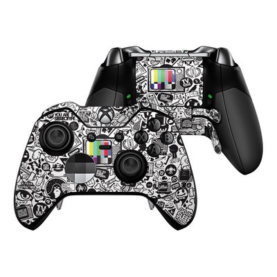 Microsoft Xbox One Elite Controller Skin - TV Kills Everything