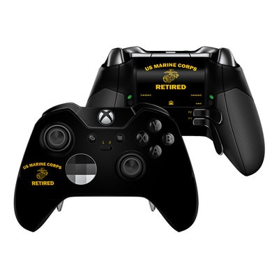 Microsoft Xbox One Elite Controller Skin - USMC Retired