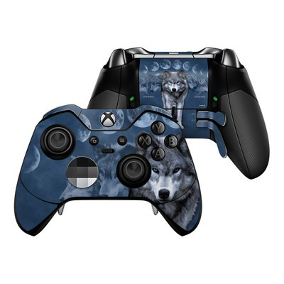 Microsoft Xbox One Elite Controller Skin - Wolf Cycle