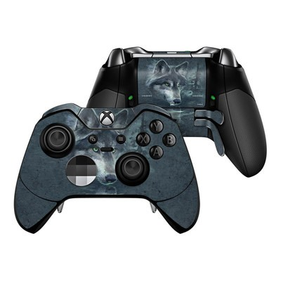 Microsoft Xbox One Elite Controller Skin - Wolf Reflection