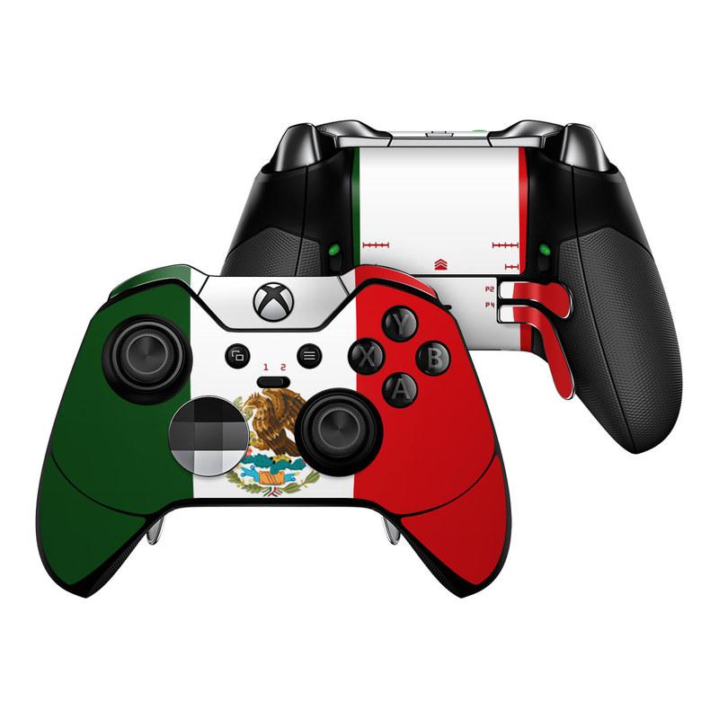 Microsoft Xbox One Elite Controller Skin - Mexican Flag