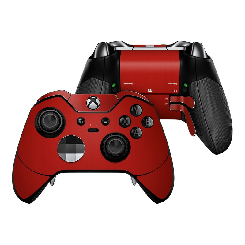 Microsoft Xbox One Elite Controller Skin - Red Burst by DecalGirl Collective