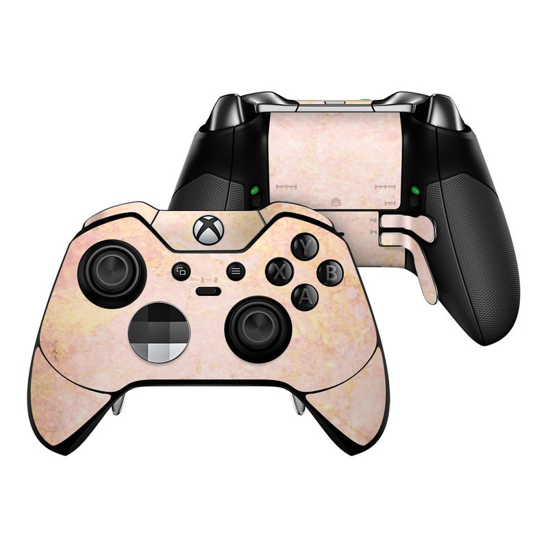 Microsoft Xbox One Elite Controller Skin Rose Gold Marble By Marble Collection Decalgirl