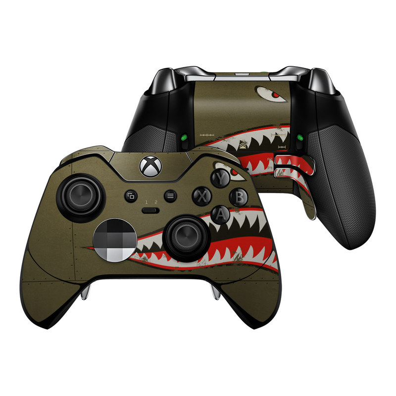 Microsoft Xbox One Elite Controller Skin Usaf Shark By