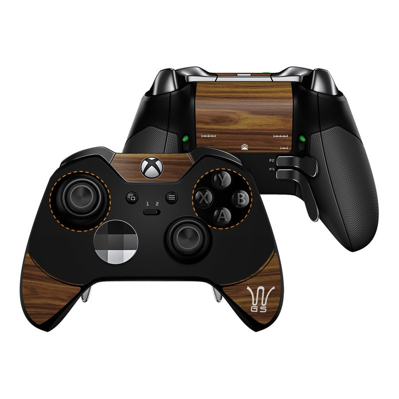 Microsoft Xbox One Elite Controller Skin Wooden Gaming