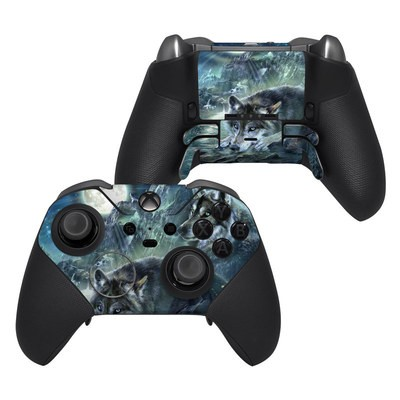 Microsoft Xbox One Elite Controller 2 Skin - Bark At The Moon