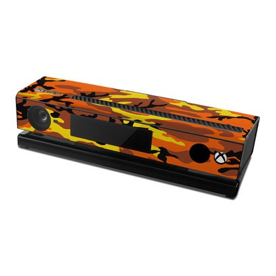 Microsoft Xbox One Kinect Skin - Orange Camo