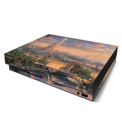 Microsoft Xbox One X Skin - Paris City of Love